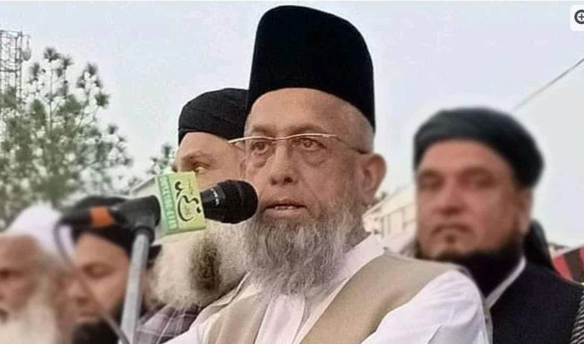 Funeral prayers of Maulana Dr Adil Shaheed were offered