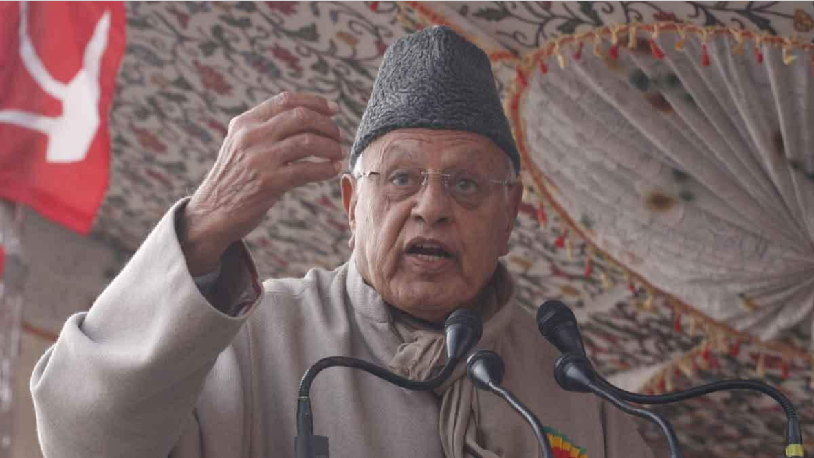 J-K disputed statement of Farooq Abdullah, said hope of restoration of Article 370 with the help of China