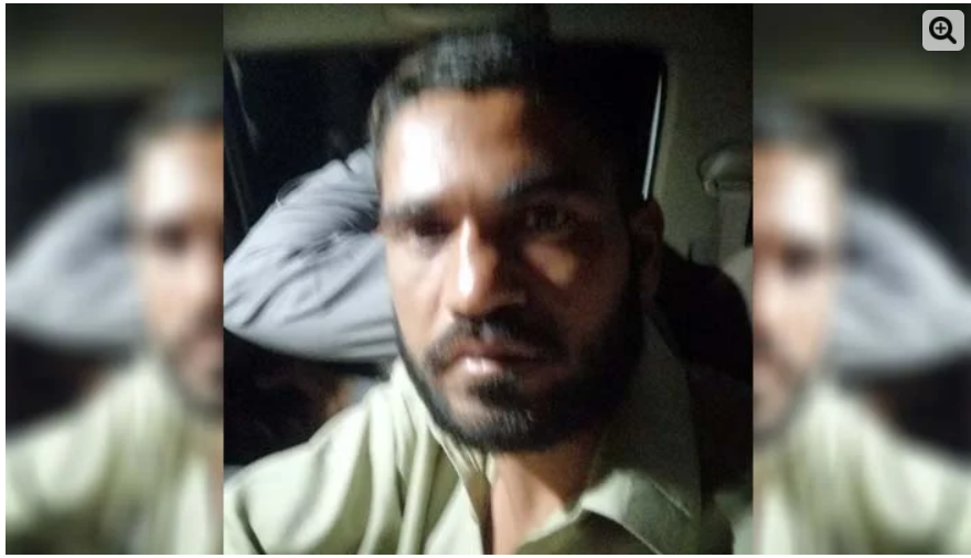 Motorway abuse cas Pictures of the time of arrest of main accused Abid came to light