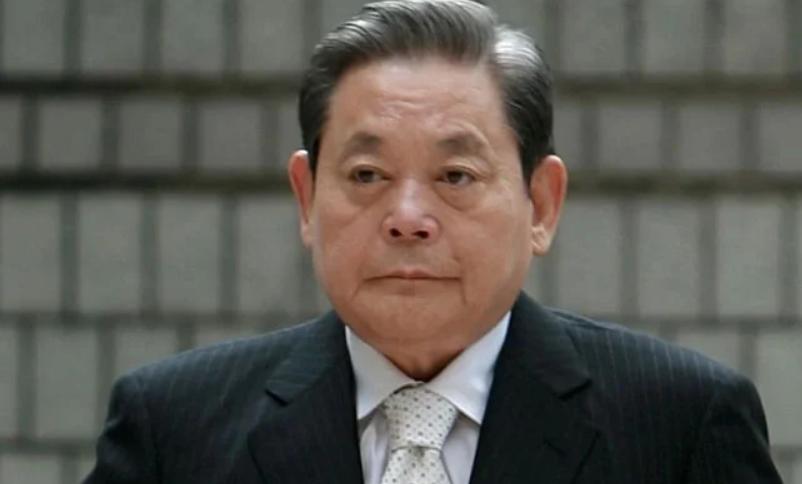 Samsung chairman Lee Kuan Yew has died