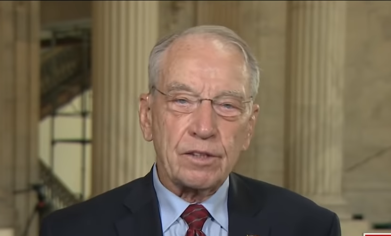 Senator Grassley: 'It's very important' to get a ninth justice on the Supreme Court