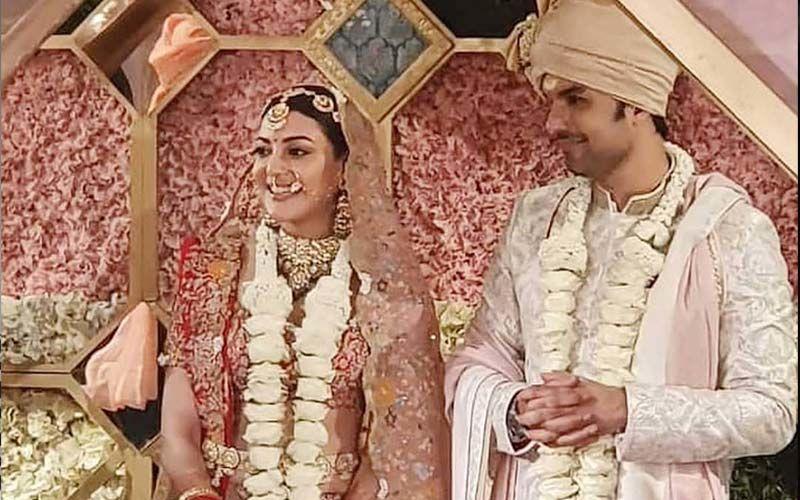 Kajal Aggarwal Finally Married with Gautam Kitchlu in Hotel Taj Mumbai
