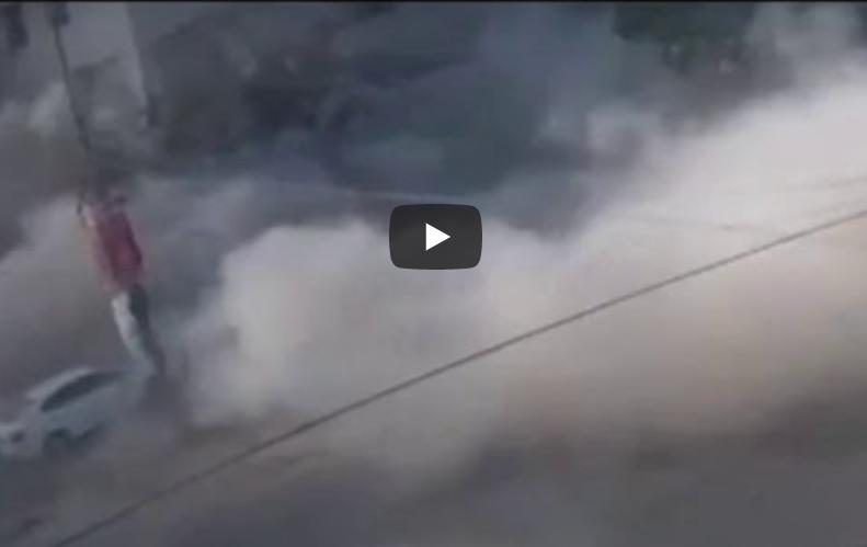 CCTV video of Maskan Chowrangi