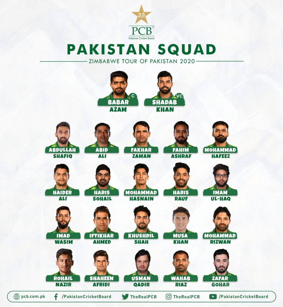 Pakistani squad