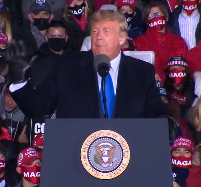 Trump holds 'Make America Great Again Victory Rally' in Wisconsin