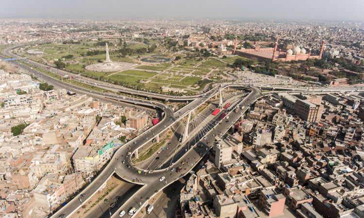 Decision to divide Lahore into two parts instead of four