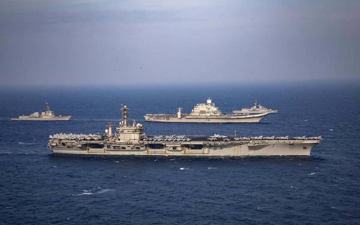 Phase two of 'Malabar' naval wargames begins in Indian Ocean