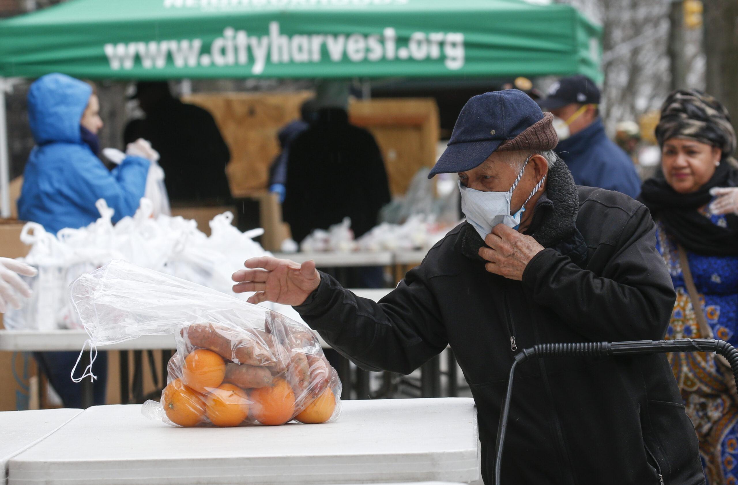 L.A food banks witness unprecedented surge in demand