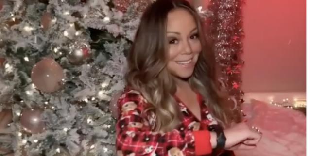 Mariah Carey Celebrates Start of Christmas Season