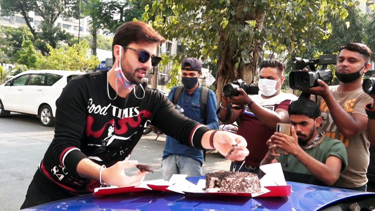 Himansh Kohli Celebrates His Birthday With Media
