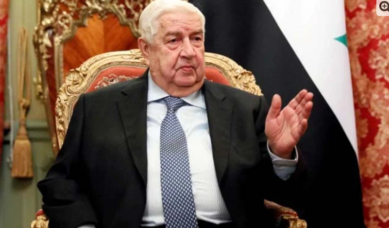 Damascus: Syrian Foreign Minister Walid al-Muallem has died