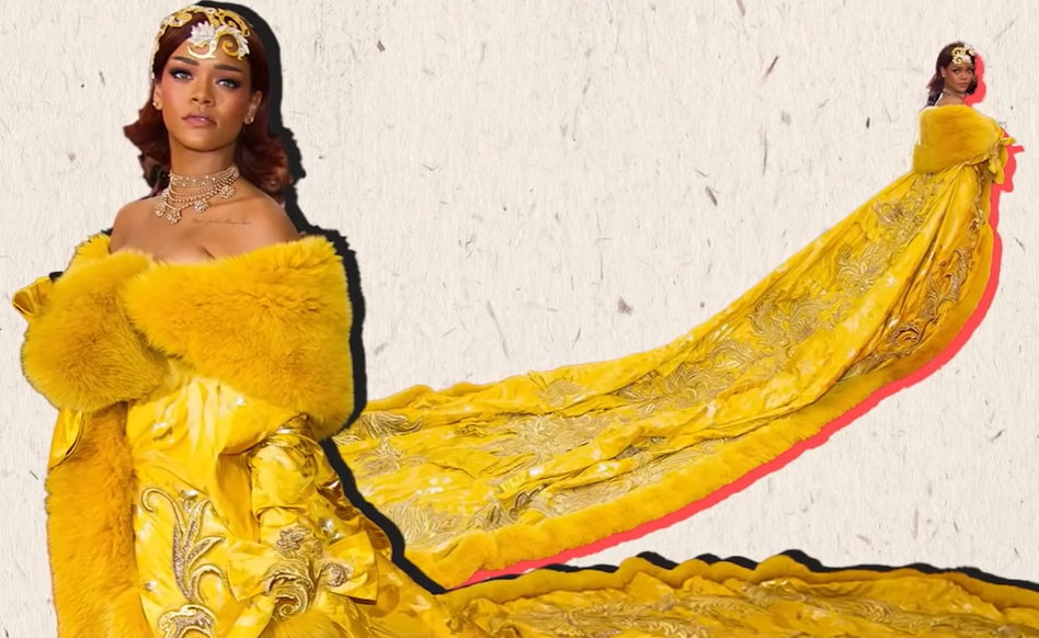 Why Rihanna's Iconic Met Gala Dress Was Such A Big Deal