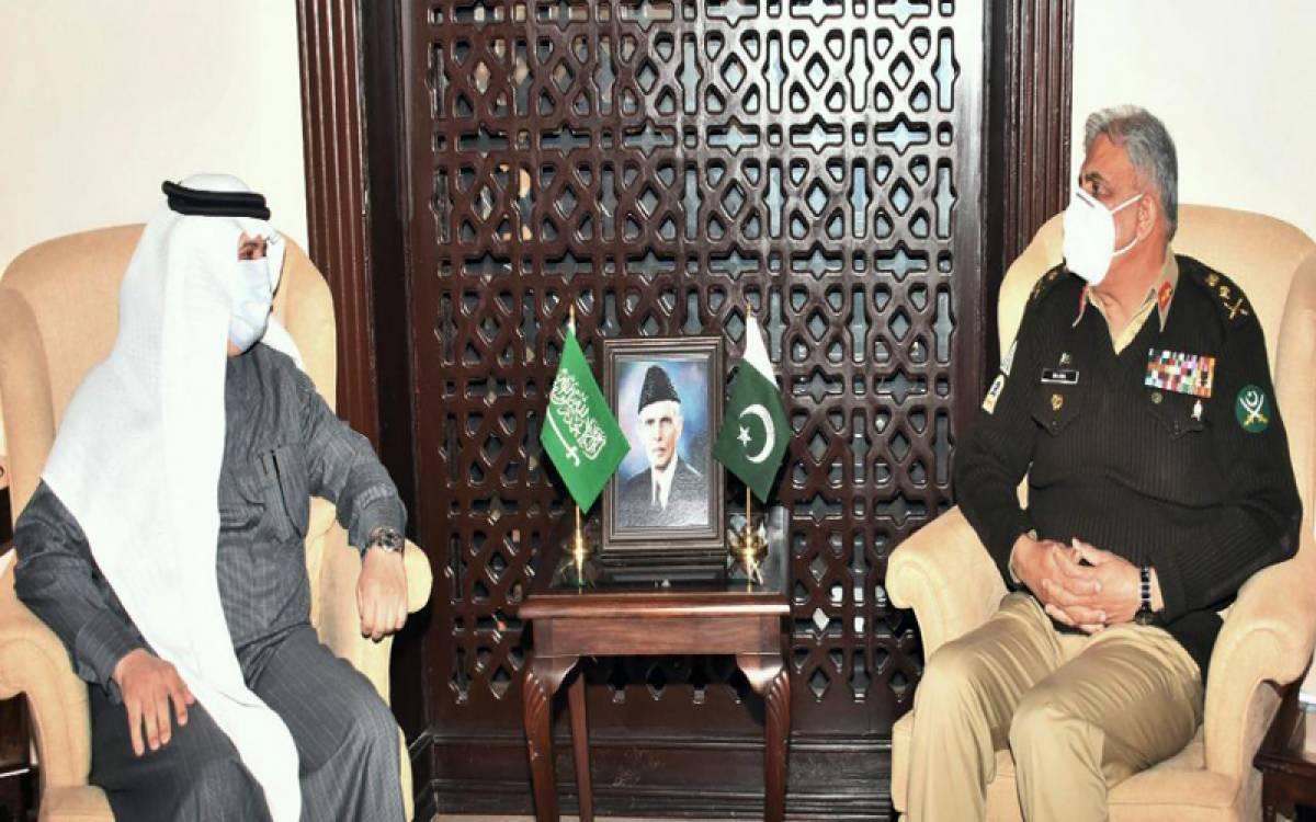 Saudi Ambassador Meets Army Chief General Qamar Javed Bajwa