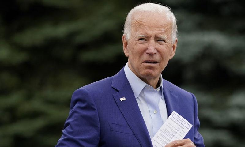 Trump refuses to respect American decision: Joe Biden