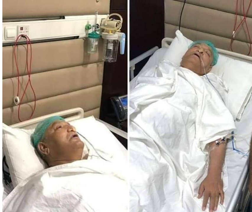 Mushahid Ullah Khan In Very Critical Condition - Latest Picture From Hospital