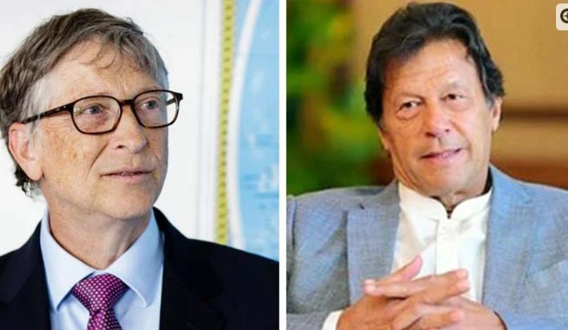 Telephone call between PM Imran Khan and Bill Gates