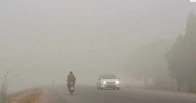 Motorways closed to all types of traffic due to heavy fog
