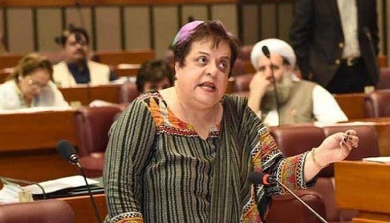 Shireen Mazari Angry on Inappropriate Twitter Trend About Bushra Bibi
