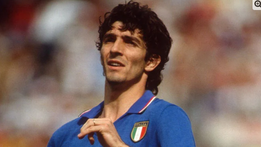 Italy 1982 FIFA World Cup Paolo Rossi passed away