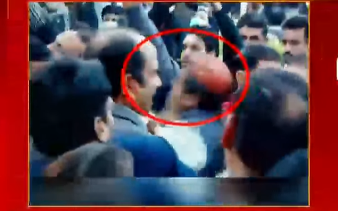 PMLN Worker Got Slapped On Trying To Meet With Rana Sanaullah