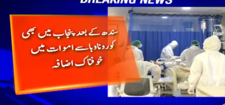 After Sindh, Punjab also witnessed a dramatic increase in deaths from corona