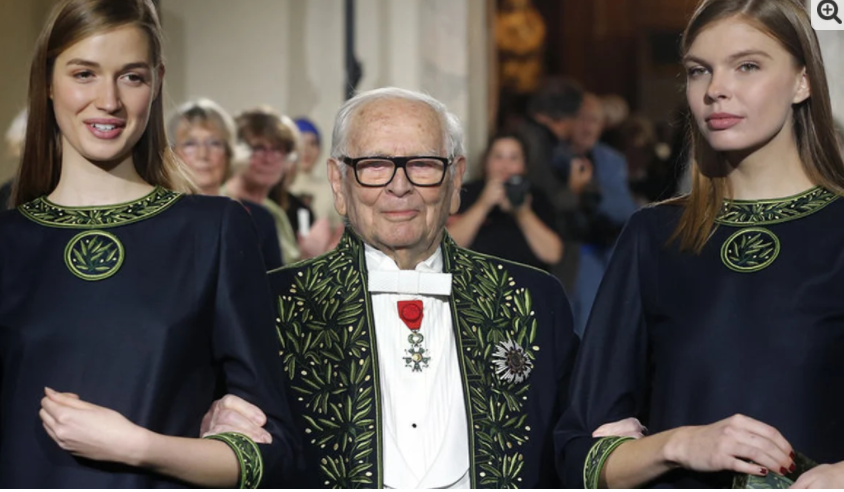 The French designer who made uniforms for PIA has died