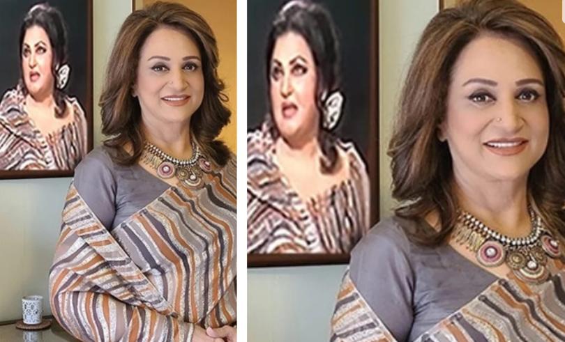 I am feeling lucky wearing Madam Noor Jahan's saree: Bushra Ansari