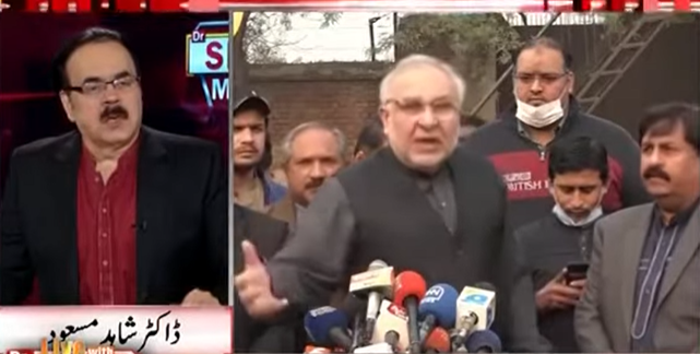 PM Imran Khan Will Not Agree On In House Change Or On A National Dialogue - Dr Shahid Masood