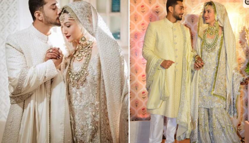 Actress Gohar Khan got married
