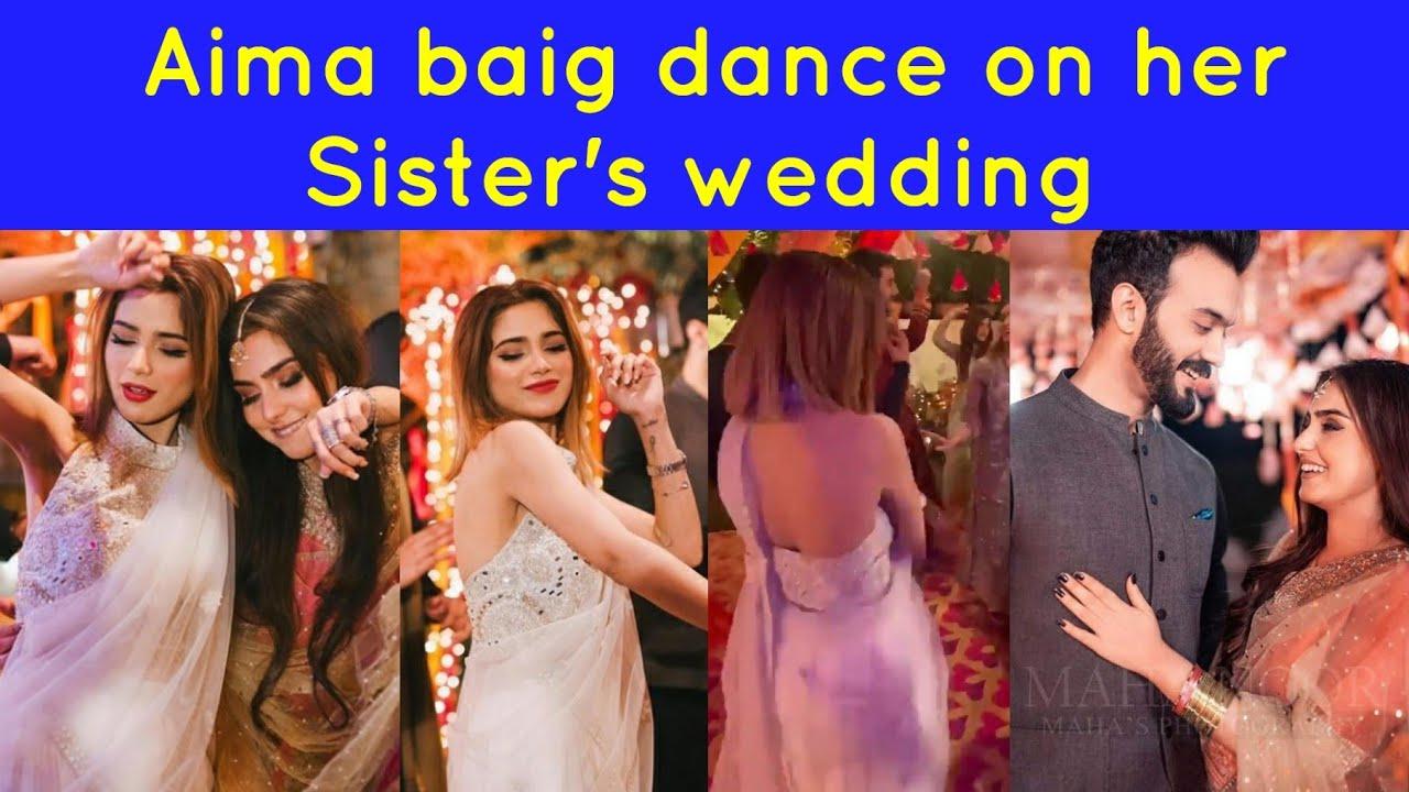 Aima Baig's dance on her sister's wedding dance video goes viral