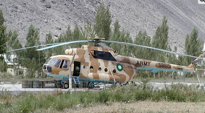 Army aviation helicopter crashes, 4 soldiers including 2 majors martyred