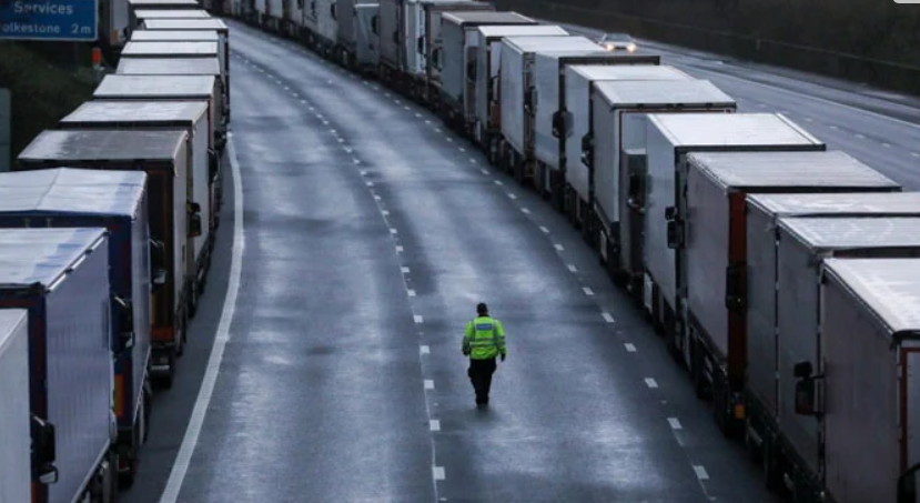 An agreement was reached between Britain and France to open the border