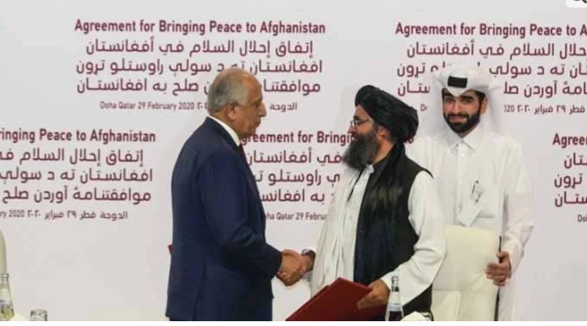 Taliban did not abide by Afghan agreement: US