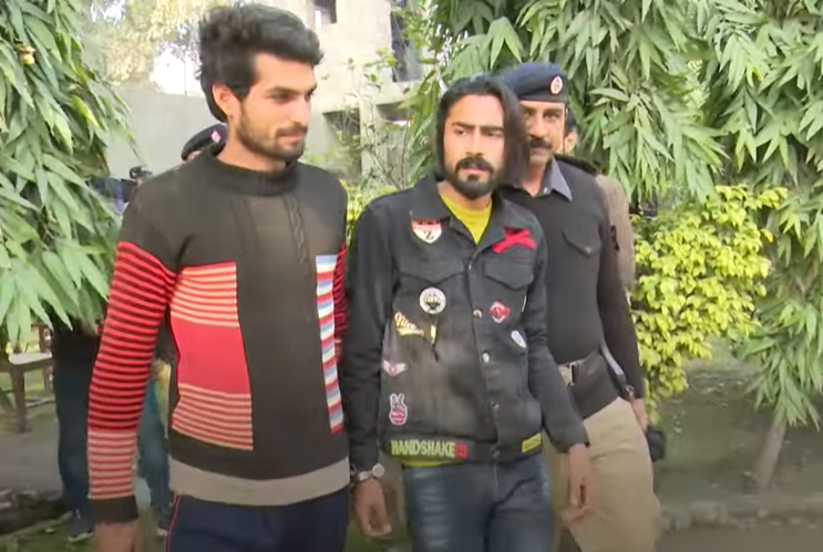 TikTokers in Lahore Arrested For Closing Railway Crossing