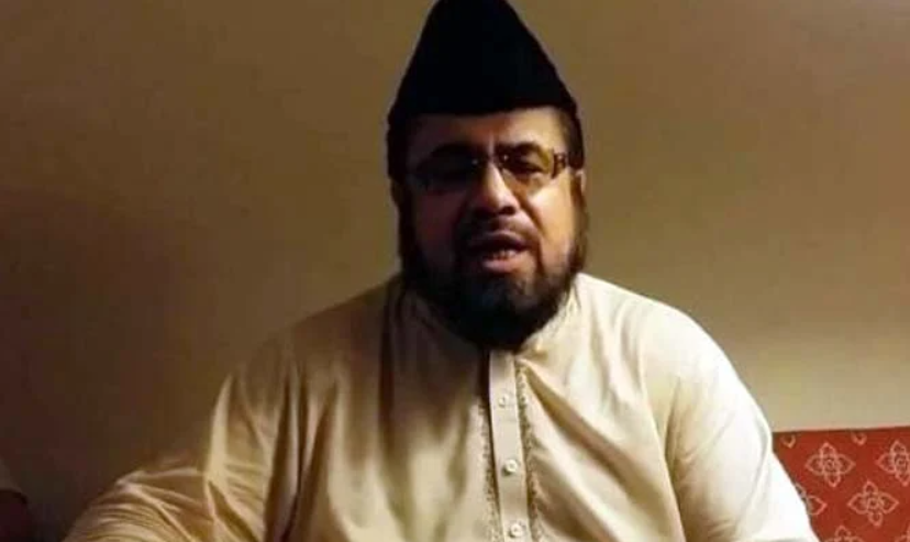 Mufti Qawi's reaction came after he was slapped by Hareem Shah