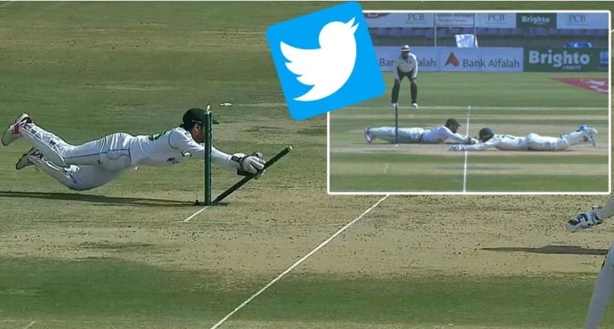 Discussions on social media about Muhammad Rizwan's incredible run out