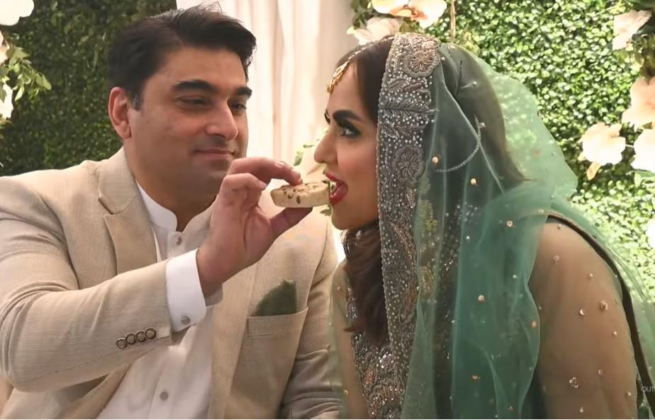 Exclusive Video of Actress Nadia Khan's Wedding With Faisal Mumtaz Rao
