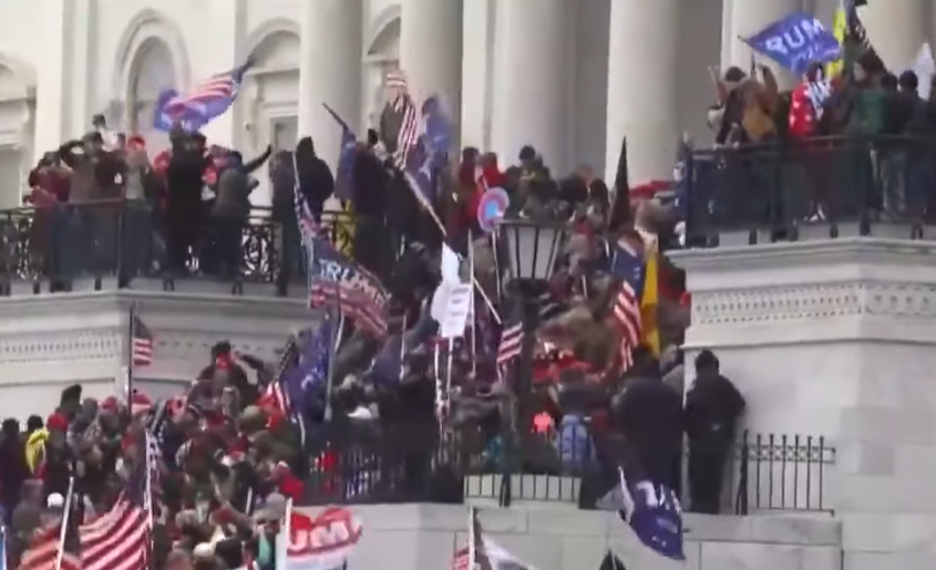 Washington Shaken As Trump Supporters Stormed Capitol Hill And Force Lockdown Of Congress