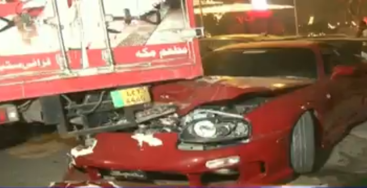 Shoaib Malik's sports car hit 3 vehicles, police take statements of affected car owners