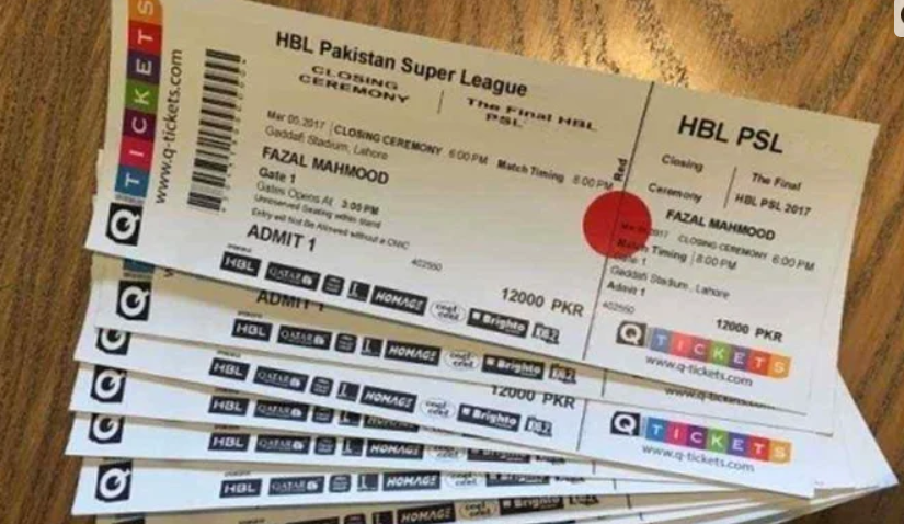 Online pre-booking of tickets for PSL 6 has started