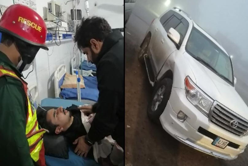 Abrar-ul-Haq's car crashed, nephew injured, other family members safe