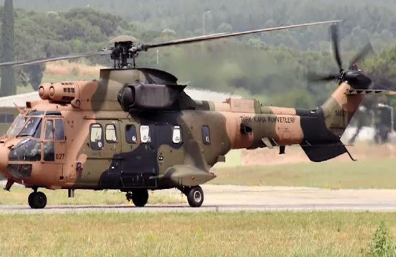 Military helicopter crashes in Turkey, 9 killed