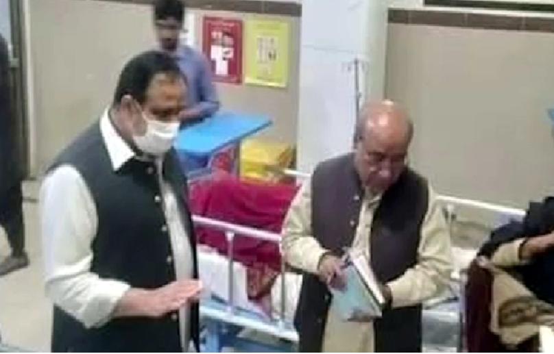 Chief Minister Punjab's raid on Tehsil Hospital Taunsa Sharif last night, MS suspended