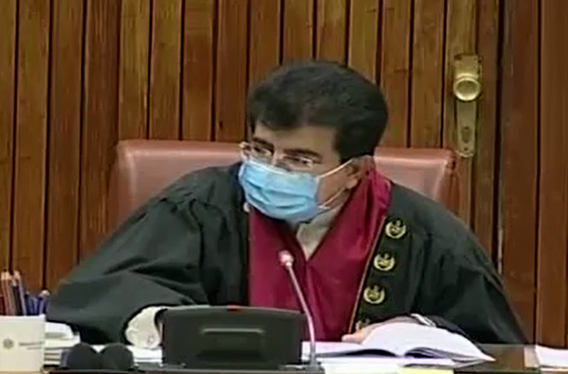 Nomination by the government for the chairmanship of the Senate, Sadiq Sanjrani's contacts intensified