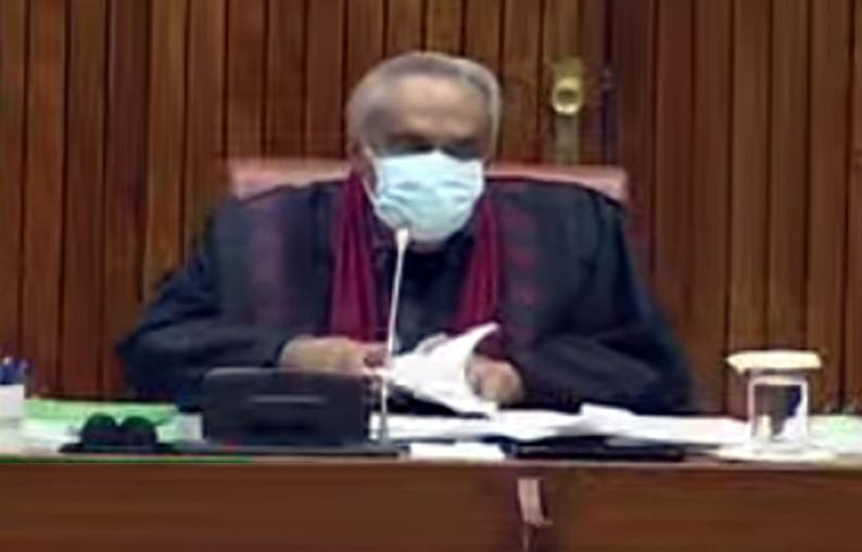 Senate session, 48 newly elected senators take oath