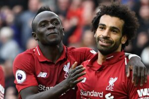 Liverpool legend Jamie Carragher says Mohamed Salah is now clear of Sadio Mane