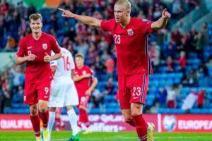 Haaland's gesture in support of three Norwegian clubs