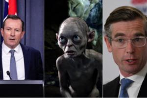 Mark McGowan responds after NSW Treasurer calls him 'Gollum of Australian politics'