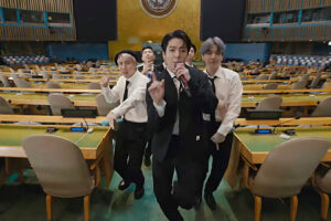 BTS took center stage at the U.N. Over 1 million fans watched live.