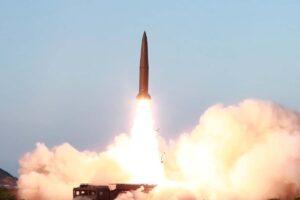 North Korea fires 2 ballistic missiles off east coast